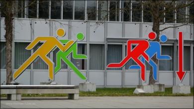 Donauhalle Ulm, Fassade