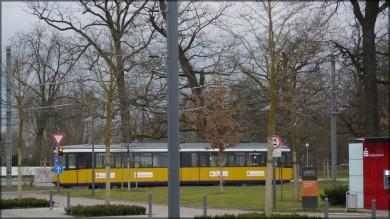 Wagen 10 auf dem Weg nach Söflingen