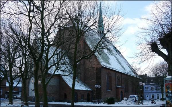 Nicolai-Kirche, Eckernförde, Februar 2015