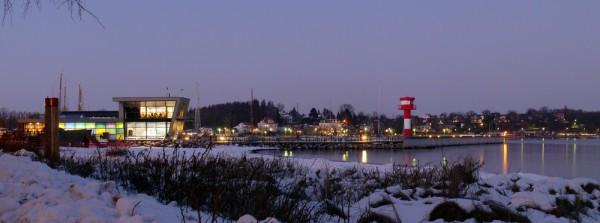 Winterpanorama, Eckernförde, Februar 2015