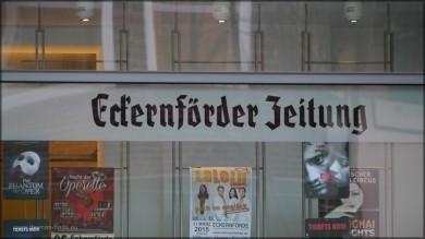 Redaktionsgebäude, Regionalzeitung