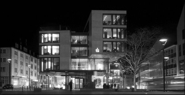 Neubau der Sparkasse Ulm, Ulm, Neu Mitte, 28.02.2015