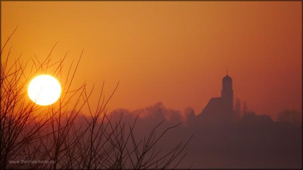 Traumhafter Sonnenaufgang im März 2015