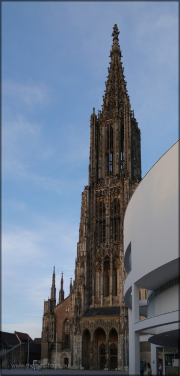 Stadthaus und Münster, April 2015