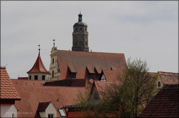 Blick auf die Däcehr von Nördlingen, 2013