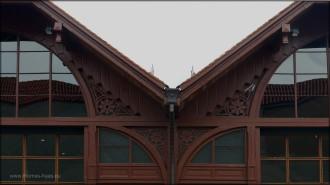 Detail des Kulturzentrums, Giebel, 2015