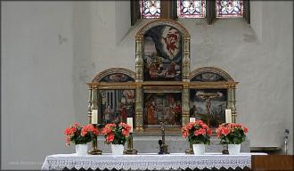 Altar der Spitalkirche, Mai 2015