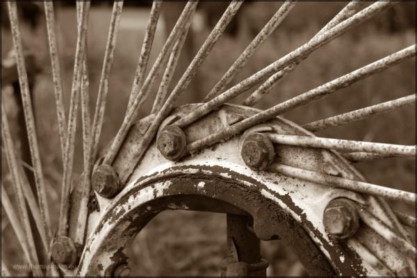 """Heuwender """"Spinne"""" Bearbeitung, 2014"""
