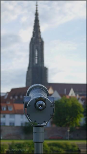 Fernrohr und Münster am 07.06.2015