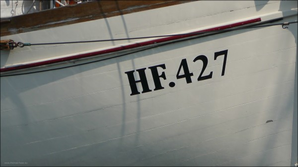 Detail HF.427, Eckernförde, Juli 2015