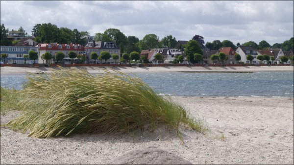 Am Strand im Ostseebad Laboe, Juli 2015