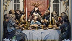 Ausschnitt, Altarraum, St. Nikolai, Kappeln