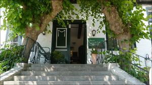 Treppe und Eingang