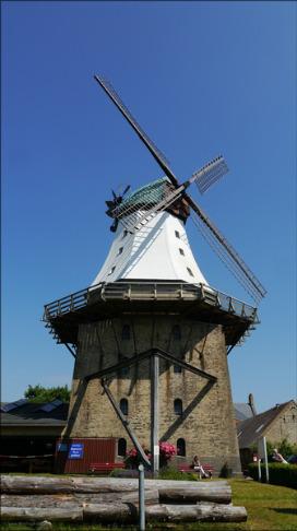 Mühle Amanda in Kappeln, Juli 2015