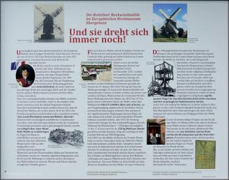Die Geschichte der Windmühle in Ebergoetzen