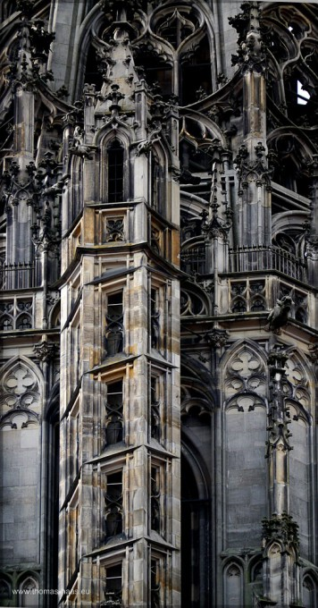 Detail vom Münsterturm, September 2015