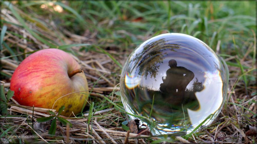Apfel und Kugel, Oktober 2015