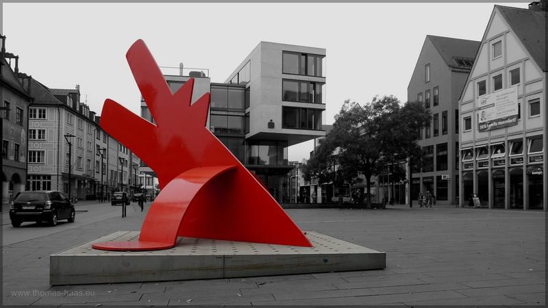 Kunstwerk Neue Mitte, Oktober 2015
