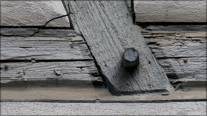 Detail, Fachwerk, Ulm, Kohlgasse