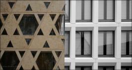 Architektur in Ulm, Weinhof, Oktober 2015