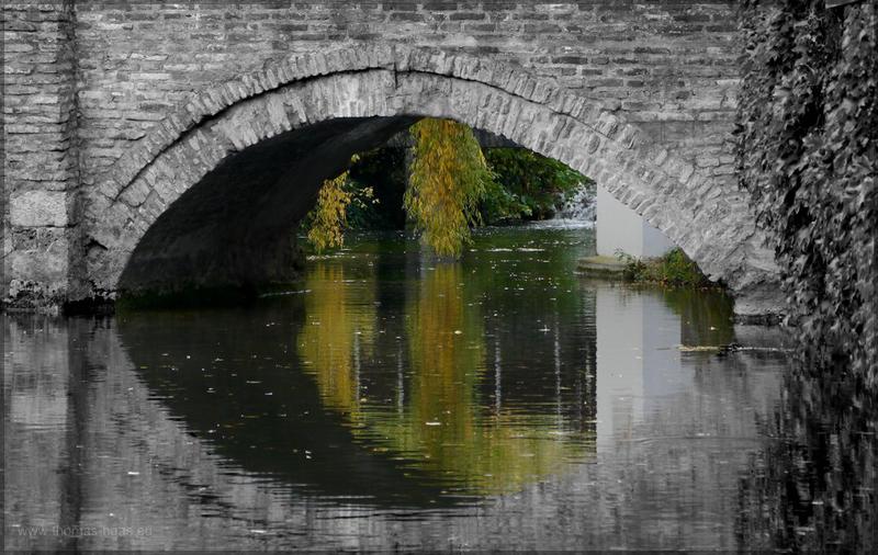 Brücke im Fischerviertel, Oktober 2015