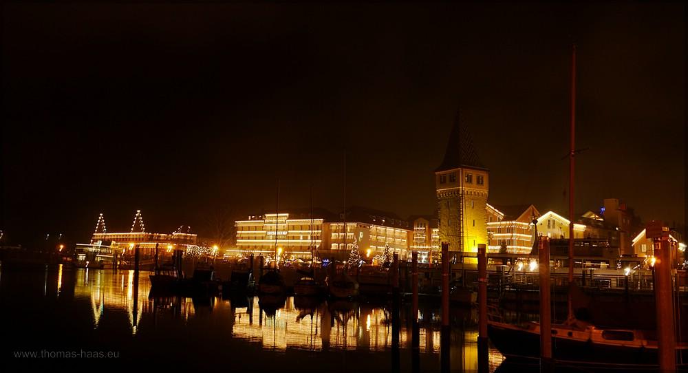Stadtansicht, Lindau, Dezember 2015