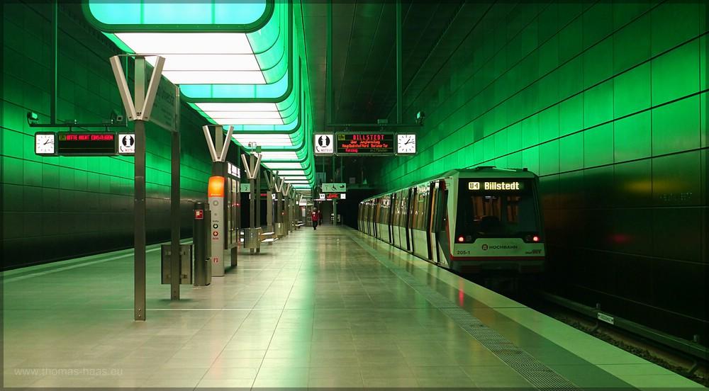 U4 Station HafenCity/Universität
