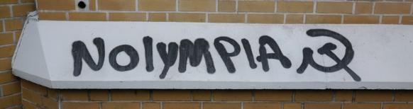 Schmiererei/Grafitti in Hamburg, Dezember 2015