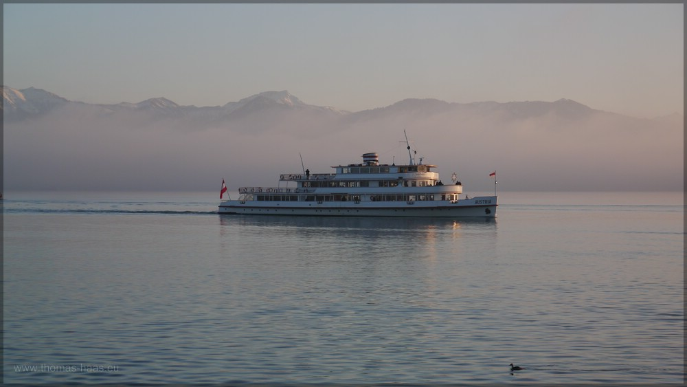 """M/S """"AUSTRIA"""" im Einsatz als Weihnachtsschiff, 06.12.2015"""
