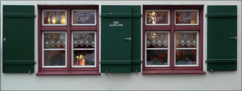 Café im Oberschwäbischen Weingarten, Januar 2015