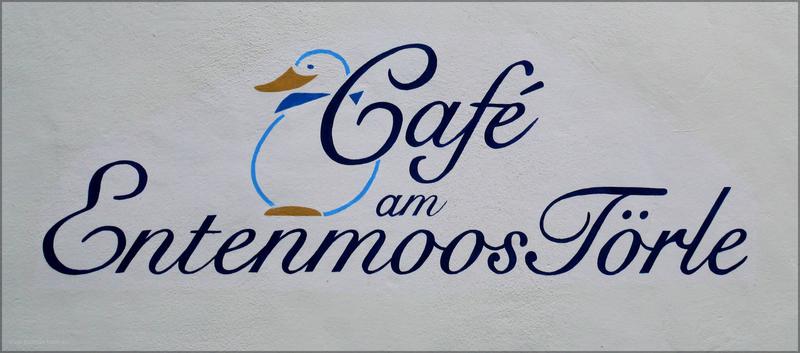 Beschriftung am Café, Bad Waldsee, Janaur 2016