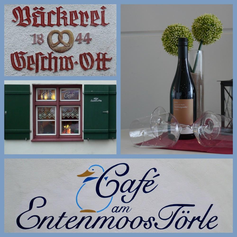 Gastronomie und Typographie in Bad Waldsee, Januar 2015