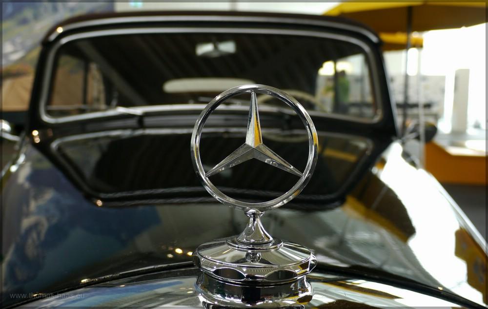 Mercedes-Stern, Hymer-Museum, Jan. 2016