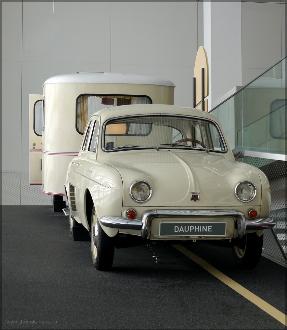 Renault-Gespann auf der Rampe, Januar 2016