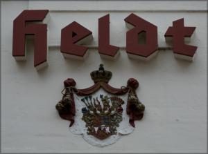 Deatil vom Café Heldr, Eckernförde, Februar 2016