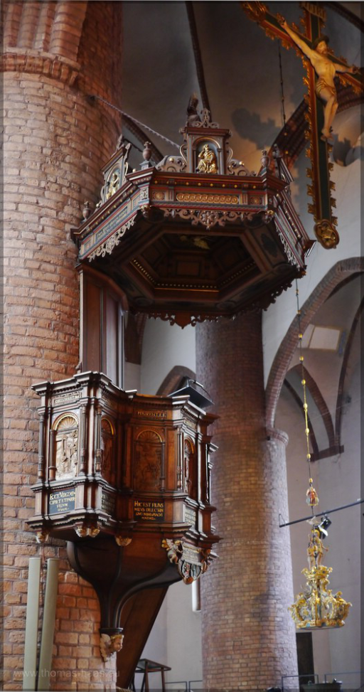 Kanzel in St. Nikolai