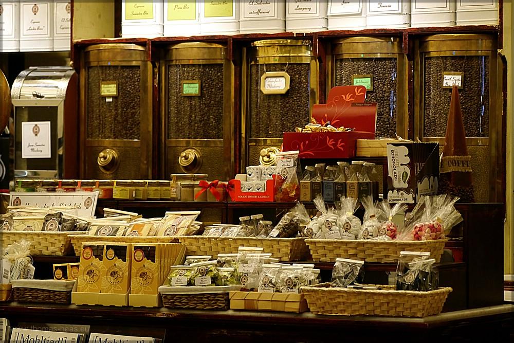 Kaffegeschäft in Eckernförde, Februar 2016