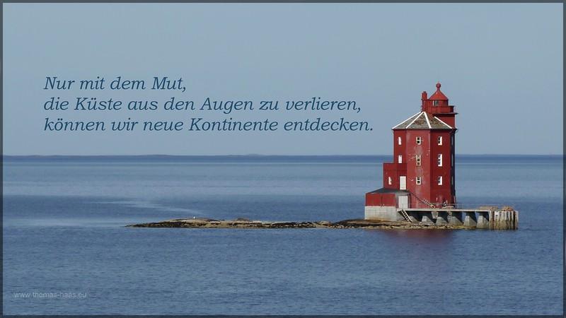 Der Leuchtturm weist den Weg nach Trondheim: Kjeungskjær