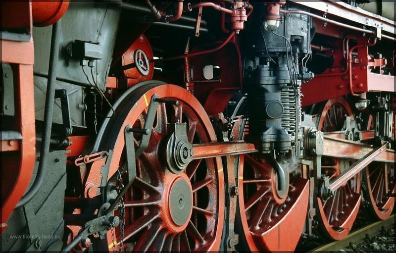 Räderwerk, Dampflokomotive
