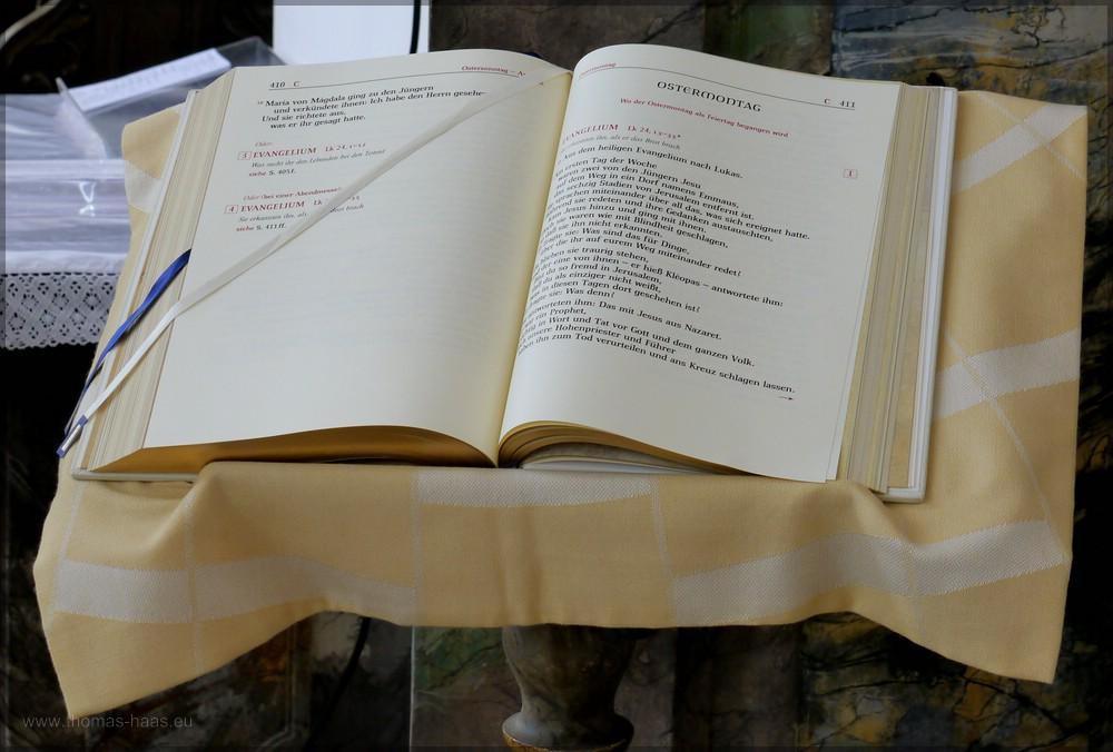Bibeltext für den Ostermontag, 2016
