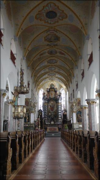 Innenaufnahme von St Peter, April 2016