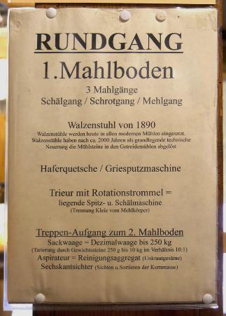 Beschreibung der Kainsbacher Mühle, 2016