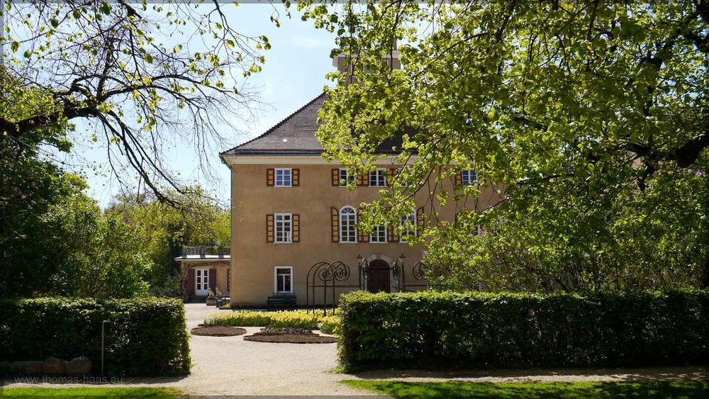 Aalen, Ostalbkreis, das Schloss im Stadtteil Fachsenfeld, Mai 2016