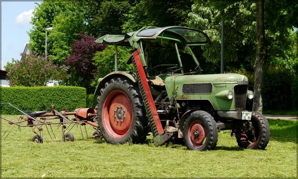 Alter FENDT Farmer 2, Mai 2016