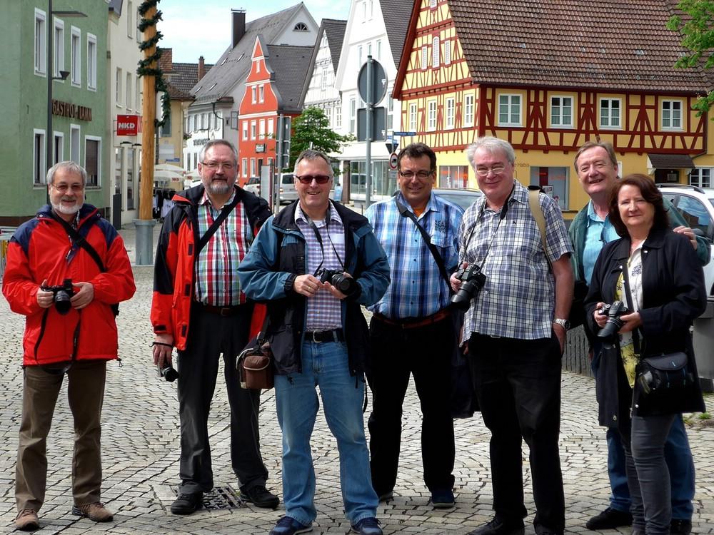Gruppenfoto, Community Ulm, 28.05.2016