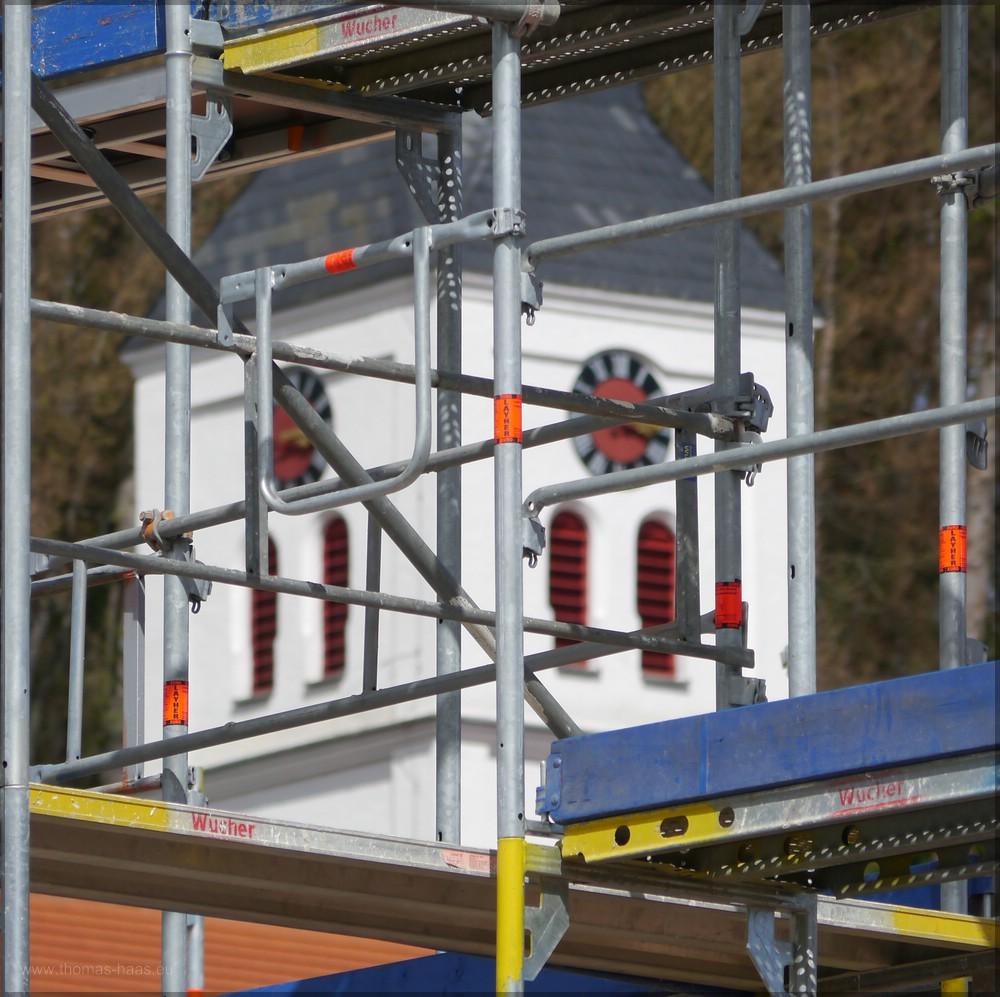 Neubauten werden den Blick zur Kirche unmöglich machen..., Mai 2016