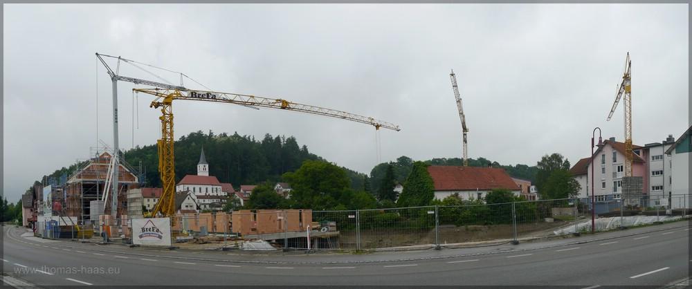 Panorama, gestiched, Juni 2016