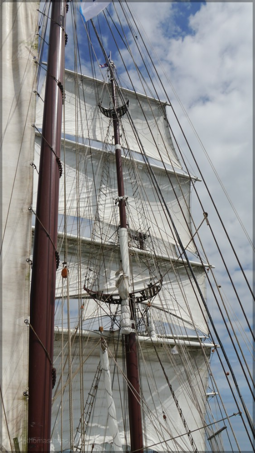 Masten und Segel