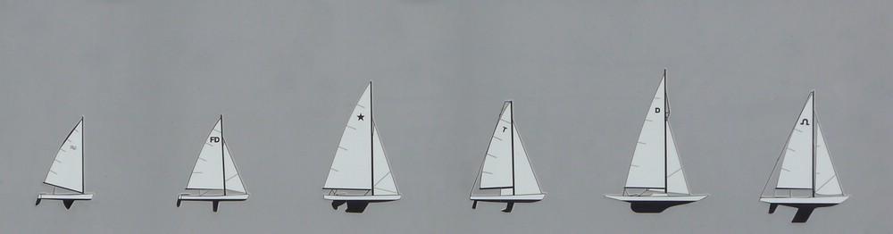 Piktogramme aus dem ehemaligen Olympia-Hafen, 2016
