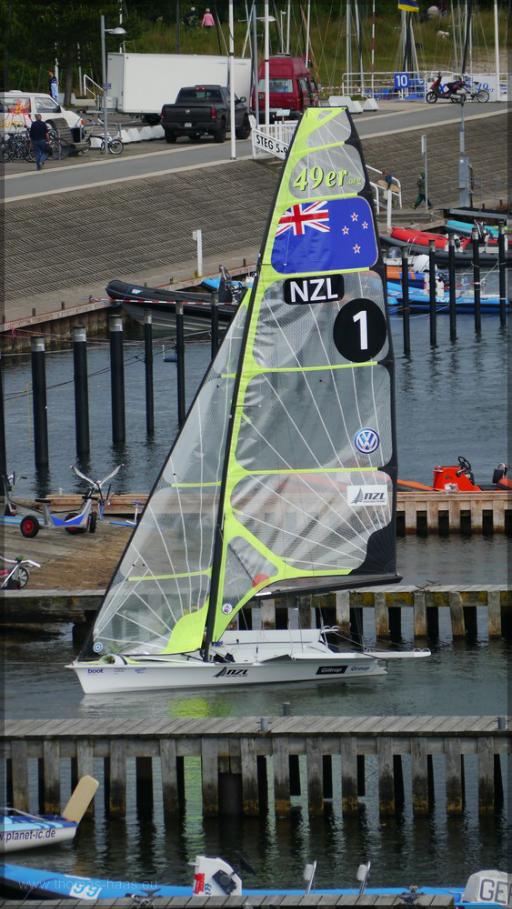 Boot aus NZL